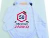 potiskana zaščitna obleka za petdeset letnico